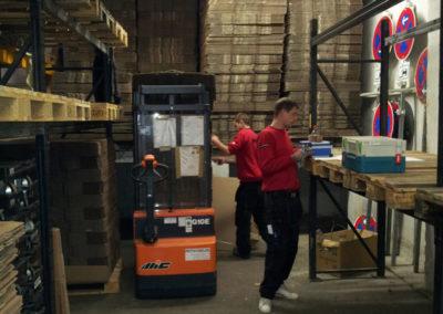 Umzugsunternehmen Lagerraum